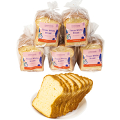 Liteful Foods Gluten Free Texas White Bread 6 Loaves