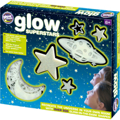Mojo The Original Glowstars Glow in the Dark Glow Superstars Set