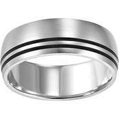 Stainless Steel 2-Line Band