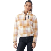 Wallflower Juniors Cozy Quarter Zip Pullover