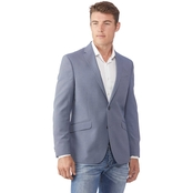 Kenneth Cole Reaction Blue Birdseye Blazer