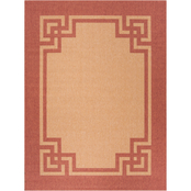 Martha Stewart Collection Deco Frame Area Rug