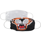 Martex Health Adult Fierce Tiger Gathered Face Mask