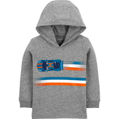 Carter's Toddler Boys Race Car Hooded Jersey Tee