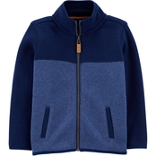Carter's Toddler Boys Zip Up Sherpa Jacket