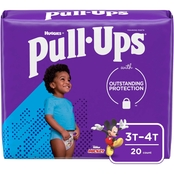 Pull-Ups Boys Learning Design Training Pants Jumbo 3T-4T (32-40 lb.)