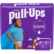 Pull-Ups Boys Learning Design Training Pants Jumbo 4T-5T (38-50 lb.)