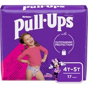 Pull-Ups Girls Learning Design Training Pants Jumbo 4T-5T (38-50 lb.)