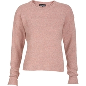 Derek Heart Juniors Crew Neck Texture Sweater