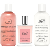 Philosophy Amazing Grace Ballet Rose 3 pc. Gift Set