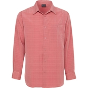 R&R Casual Textured Woven Shirt