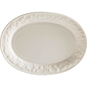 Gibson Home 18 in. Fruitful Serving Platter