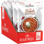 Wise Company ReadyWise Simple Kitchen Hearty Veggie Chili Soup 6 pk.