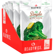 Wise Company ReadyWise Simple Kitchen Buttered Broccoli 6 pk.