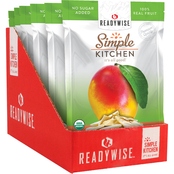 Wise Company ReadyWise Simple Kitchen Organic Freeze Dried Mango 6 pk.