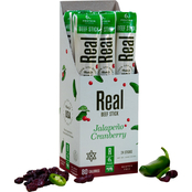 Real Snacks Jalapeno Cranberry Kosher Angus Beef Sticks 144 ct., 1.2 oz. ea.