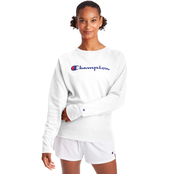 Champion Powerblend Graphic Boyfriend Crew