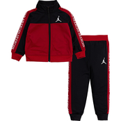 Jordan Little Boys Air Stamp Tricot 2 pc. Set