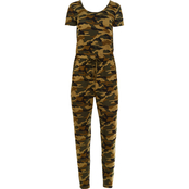 Almost Famous Juniors Yummy Jersey Jumpsuit