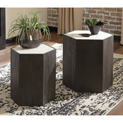 Signature Design by Ashley Nanfield Accent Table 2 pc. Set