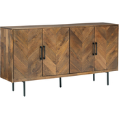 Signature Design by Ashley Prattville Accent Cabinet