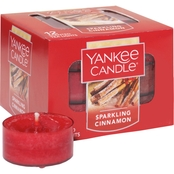 Yankee Candle Sparkling Cinnamon Tea Light Candle 12 pk.