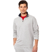 Nautica Quarter Zip Pullover Top