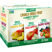 Sensible Foods 20 ct. Fruit Variety Crunch Dried Snacks 2 pk.