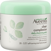 Aveeno Clear Complexion Daily Salicylic Acid Blemish Treatment Face Cleansing Pads