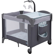 Delta Children LX Deluxe Portable Play Yard with Bassinet and Changing Table