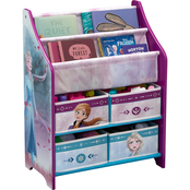 Delta Children Disney Frozen II Toy and Book Organizer