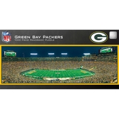 NFL MasterPieces Green Bay Packers Stadium Panoramic Puzzle, 1000 pc.