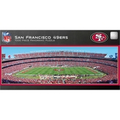 MasterPieces NFL San Francisco 49ers Stadium Panoramic 1000 pc. Puzzle