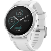 Garmin Fenix 6S Silver with Black Band Multisport GPS Smartwatch