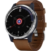 Garmin Men's/Women's vivoactive 4 First Avenger GPS Smartwatch 010-02174-41