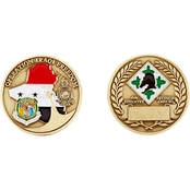 Challenge Coin Iraqi Freedom, 4th Infantry Division