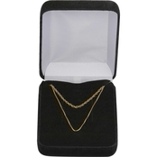 14K Gold Filled 18 in. Box Chain and 20 in. Heavy Rope Chain Boxed Set
