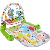 Fisher-Price Deluxe Kick and Play Piano and Gym