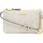 Calvin Klein Denver Monogram Logo Crossbody Bag