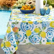 Benson Mills Citrus Burst Fabric Print Tablecloth