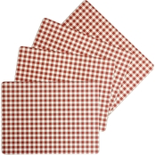 Benson Mills Calvin Gingham Cork Placemat 4 pc. Set