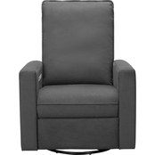 Abbyson Rochelle Power Swivel Glider Recliner
