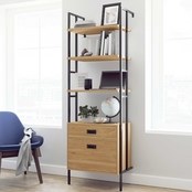 Sauder New Hyde Bookcase with Drawers
