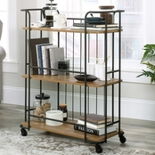 Sauder Station House Storage Cart