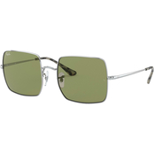 Ray-Ban Square Solid Metal Non Polarized Sunglasses 0RB1971