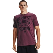 Under Armour Project Rock Hardest Worker Tee