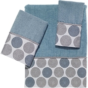 Avanti Dotted Circles Towel 3 pc. Set