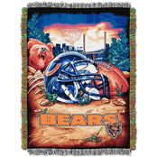 Northwest NFL Chicago Bears Home Field Advantage Tapestry Throw