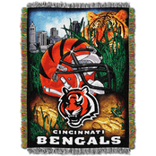 Northwest NFL Cincinnati Bengals Home Field Advantage Tapestry Throw