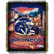 Northwest NFL Denver Broncos Home Field Advantage Tapestry Throw